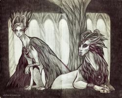 Forest Gods by Sabellian