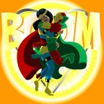 Mister Miracle and Big Barda 150 by GeePeeDee
