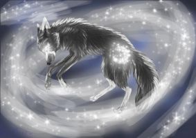 Becoming a Lunar Wolf by MoonyHellWolf
