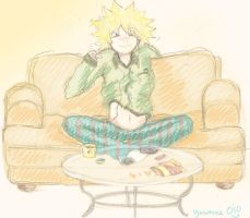 Tweek's 'Happy Place' by mittens10