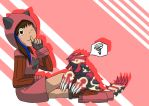 Me and Primal Groudon by MipeLaz