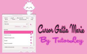 Cursor Gatita Marie by leyfzalley