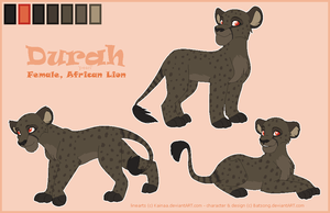New Charrie - Durah Ref. Sheet by Batsong