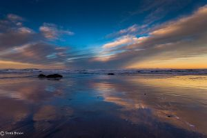 Pacific Coast Sunrise by DreaErvin