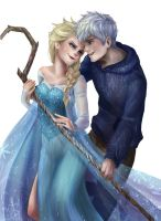 Jack and Elsa without background by Cygnetzzz