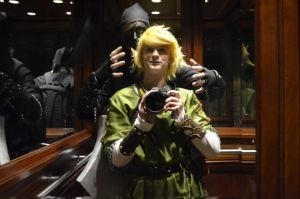 Anime Boston 2012 - Link and Dark Link by Demonsil
