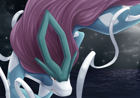 Comm: Suicune by heilei