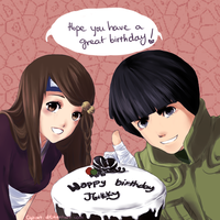 Happy belated birthday!! by clgtart