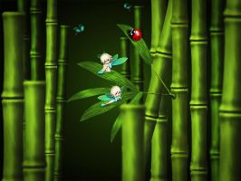 Bamboo Lullaby by chamirra