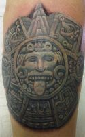 Aztec carving by Stu-mo