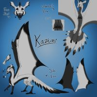 Kazumi Reference Sheet by Claws-and-Paws