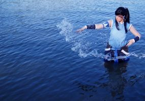 Avatar - LOK ~ Training: Water Bending by YukaFreak