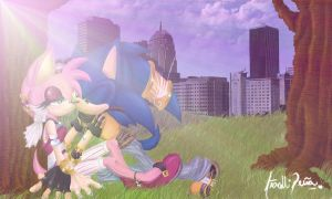 Sonamy at the Park by Aritasum