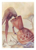 Crow and the Jug by WilsonWJr