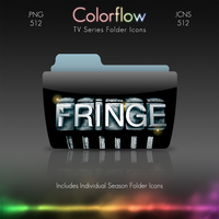 Colorflow TV Folder Icons: Fringe by Crazyfool16