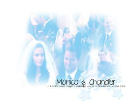 Monica And Chandler by Littlestarling310