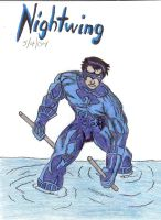 Nightwing by apocalitico