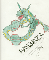 Rayquaza! :3 by Shabou