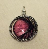 Dark Moon Pendant by ACrowsCollection