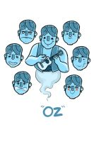 Oz character design by zacharyxbinks