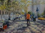 Art Outside the Met Musuem by Wulff-Arts