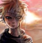 injured gaara by arabrabb