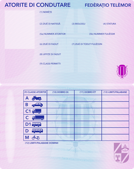 Telemor Driving License 2.0 by requindesang