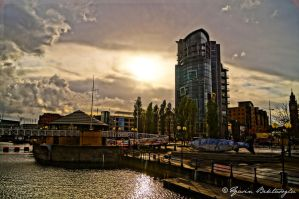 The River Lagon....... Belfast by yasinbektasoglu