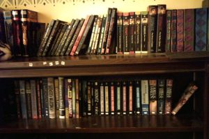 My awesome book collection by Nanashi190