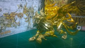 Cloth Myth EX Leo God Cloth by sd102