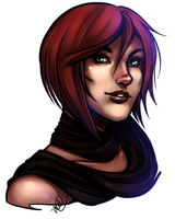 Damry Portrait Commission by luniara