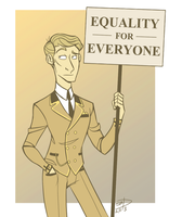 Vintage protest? by SheepyDoodle