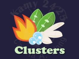 Clusters Logo by kamy2425