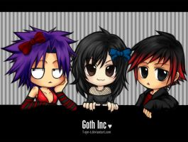: Goth Inc : by F-AYN-T