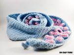 Tentacle Scarf in Baby Blue by periwinkleimp