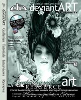 deviantArt Magazine Cover by inception8