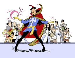 The Magic Doctor Strange by caanantheartboy