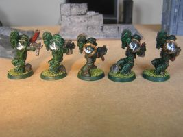 Forgeworld mk3 armour squad (WIP) part 1 by Nik0410