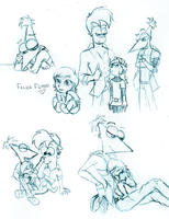 PHINEAS AND FERB by ColorfulCandie