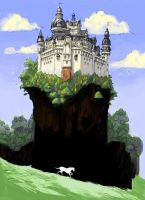 Wild Horse and Castle by archvermin