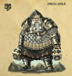 Dwarven Warrior design by TSN551