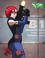 Regina From Dino Crisis by SEwingless