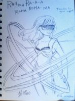 Gaga Sketch - Revolutions by Yamino