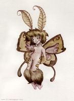 Traditional Moth by StressedJenny