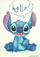 Stitch for postcrossing by camaseiz
