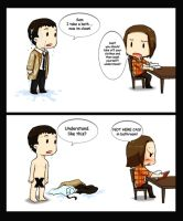 SPN-Cas will take a bath by jamirana
