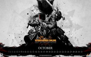 WAR Calendar - October 2008 by kriegs