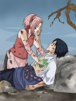 Don't leave me - SasuSaku by Cocodoo
