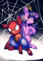 commission : The Web of Friendship by bakki