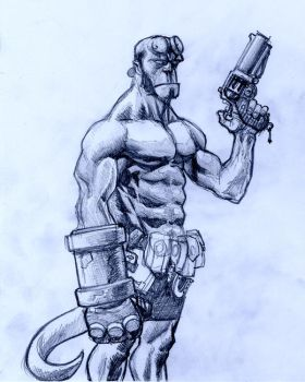Hellboy by Gyanka67